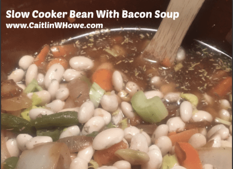 Bean with Bacon Soup Ingredients