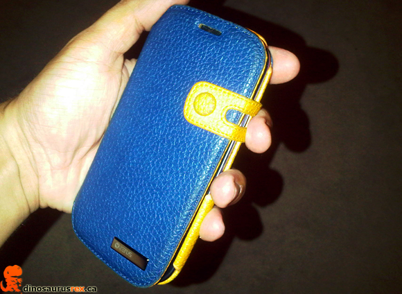 Zenus Masstige Color Edge Diary Case for Samsung Galaxy S3 - Navy at dinosaurusrex.ca