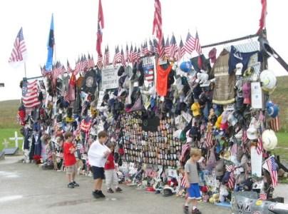 United 93 Temporary Memorial