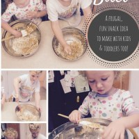 No-Bake Energy Bites: A frugal, fun snack idea to make with kids (and toddlers too!)