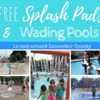 Water Splash Pads and Wading Pools in and around Lancaster County