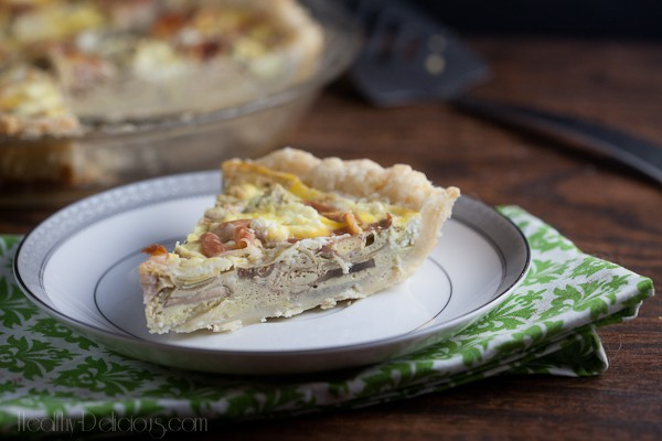 proscuitto and artichoke quiche-2