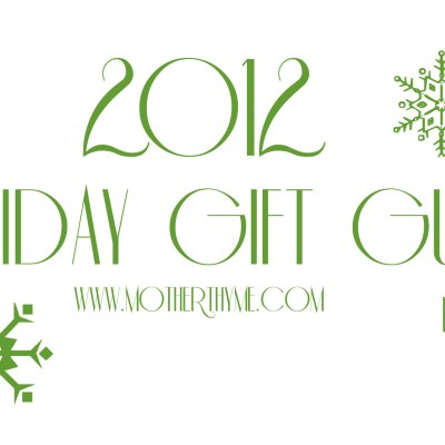 2012 Holiday Gift Guide Part 2 + $50.00 Target Gift Card Giveaway