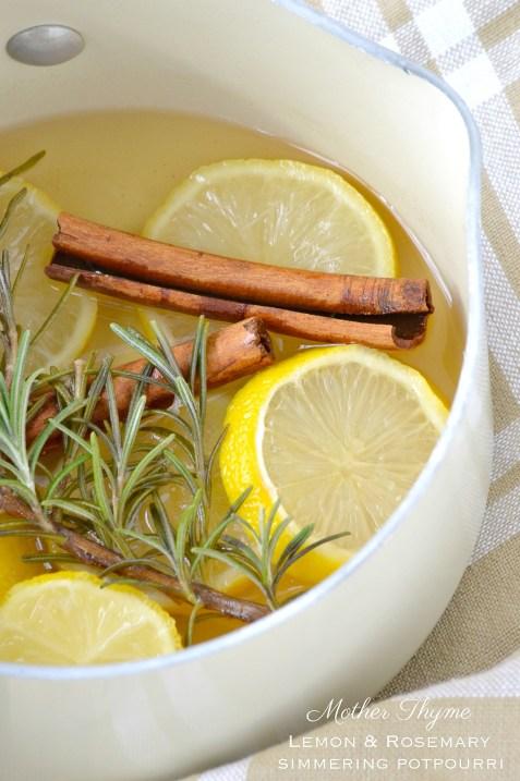 Lemon and Rosemary Simmering Potpourri