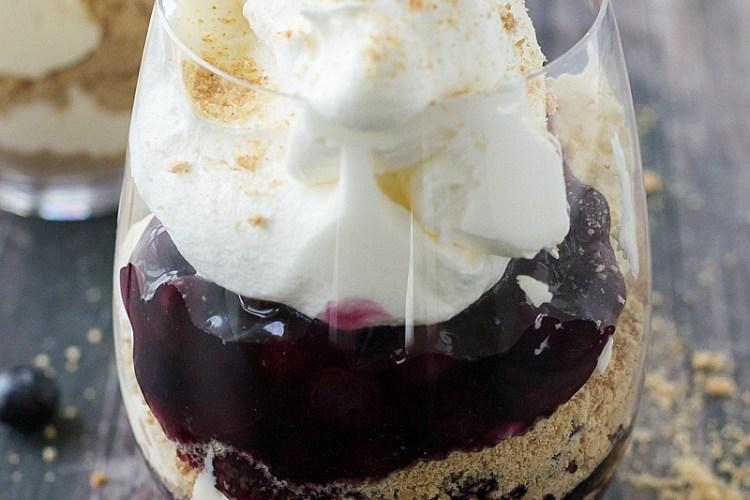 No-Bake Cheesecake Parfaits + Video