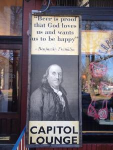 Beer is proof that God loves us and wants us to be happy. ~ Benjamin Franklin
