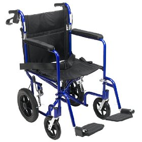 Lightweight Medline Transport Travel Wheelchairs are very handy tools for those of us caring for elderly parents - and sometimes for us baby boomers as well.jpg