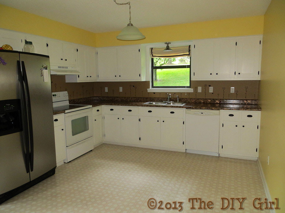 Shaker Kitchen Cabinet Update Before And After The Diy