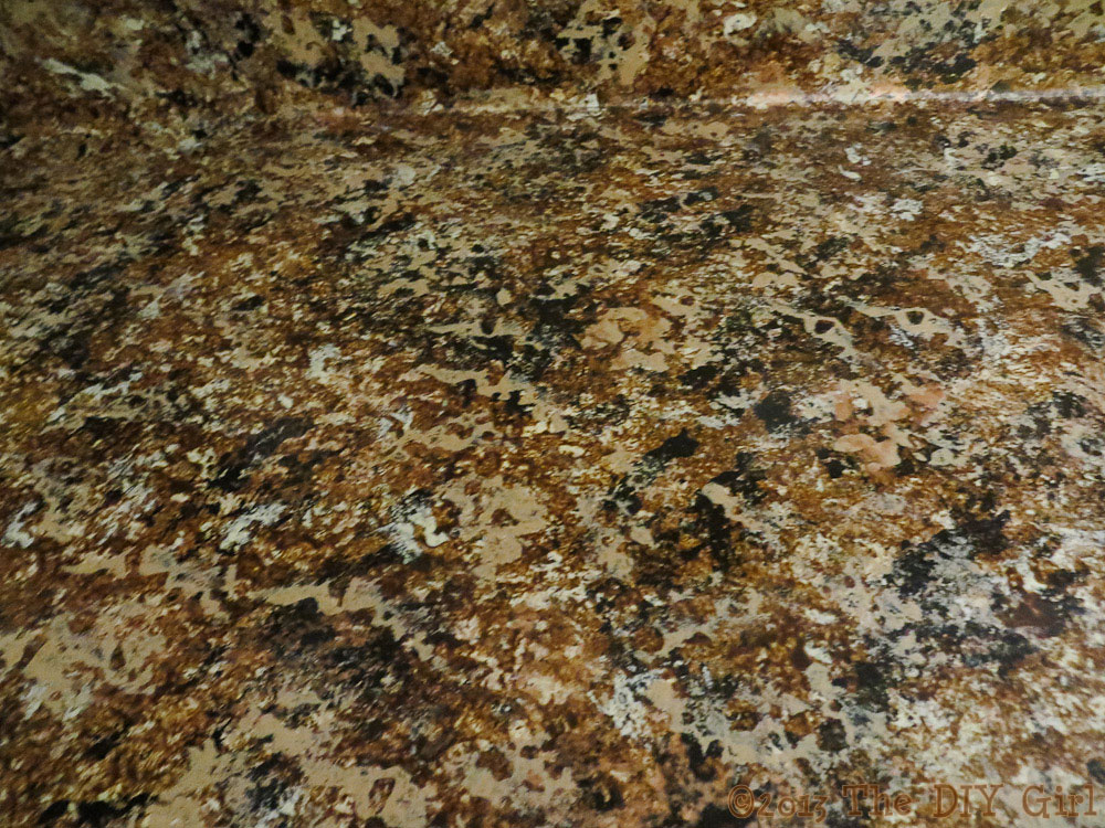 Giani Countertop Paint Chocolate Brown : 70 Countertop Fix ? Giani Granite Paint Part 2 ? 10 Comments