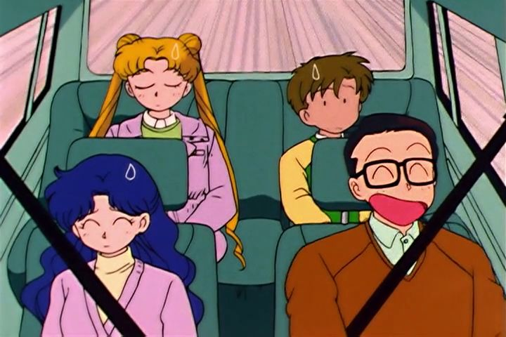 The Tsukino family truckster