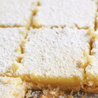 Healthy Lemon Bars with Gluten-Free Almond Crust