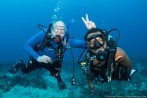 Our customers love having fun with our dive guides