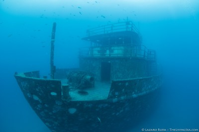The Anna Cecilia ship wreck in West Palm Beach