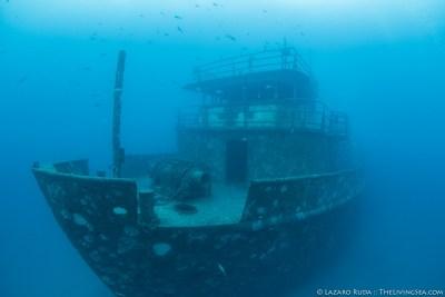 The Anna Cecilia ship wreck in West Palm Beach