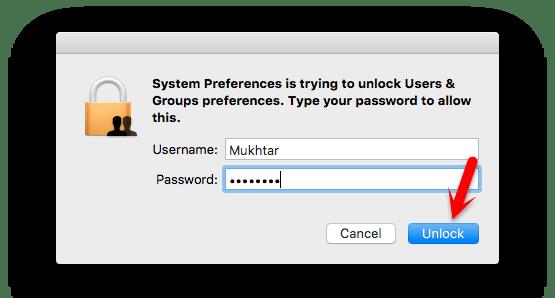how to change username on mac el capitan