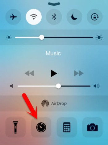 Control-Center How To Unlock Your iPhone without using Passcode