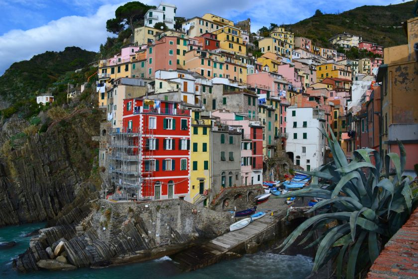 solo travel destinations 2015, Riomaggiore Italy view