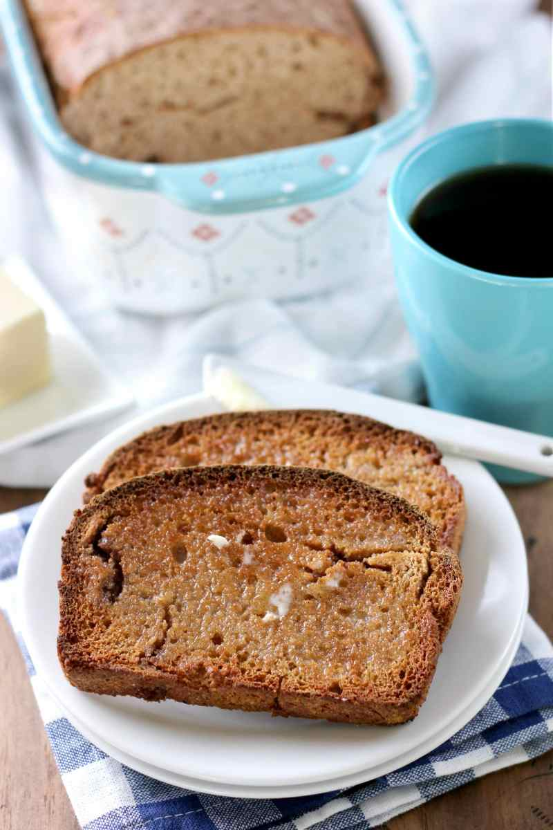 Large Of Banana Bread French Toast