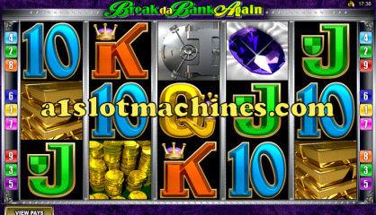 Break Da Bank Again Video Slot Machine