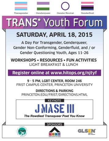 Trans Youth Forum Flyer - for FB