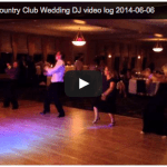 [Video Log] Golden Valley Country Club Wedding DJ