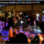 Video Log – MN landscape Arboretum Wedding DJ