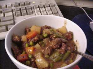 A tasty-looking stew.