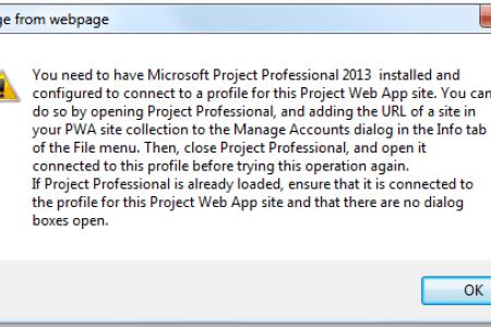 Project Server Quick Fix: Opening Enterprise...