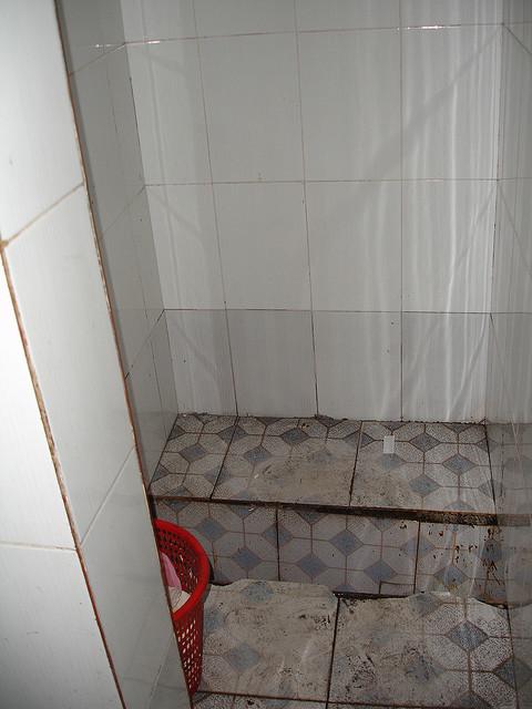 Chinese bathroom trough