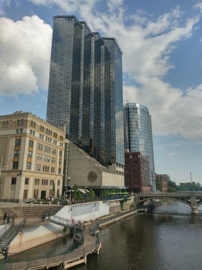 Beautiful buildings in Grand Rapids