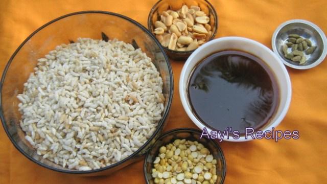 puffed rice laddu1