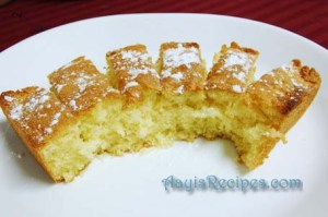Simple egg cake