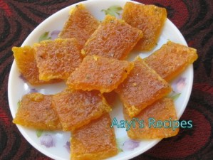 Pappaya Sweet(Papaya Khadi)