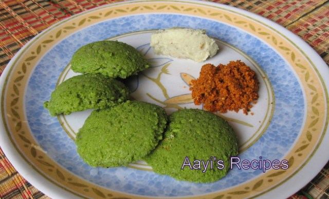 Dill Leaves Idli (Shepi Idli)