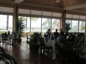 Main dining room at Angler's