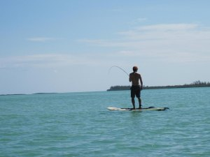 Fishing on a Paddle Board!