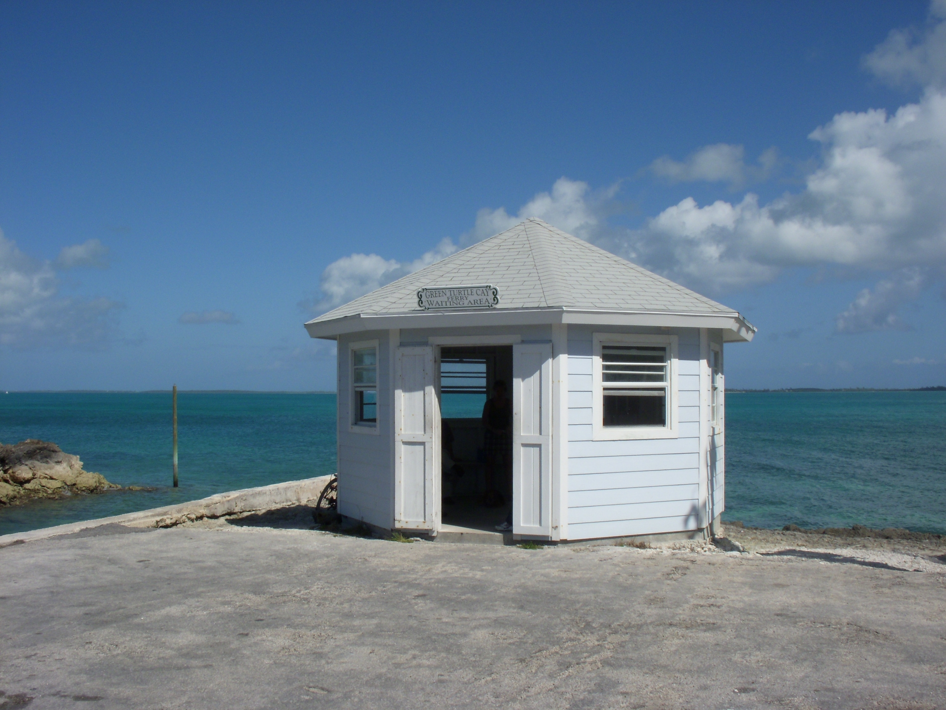 House rentals green turtle cay - The Green Turtle Ferry Dock Just North Of The Treasure Cay Airport