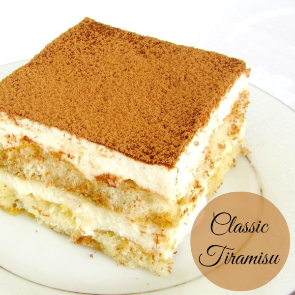 Classic Tiramisu | A baJillian Recipes