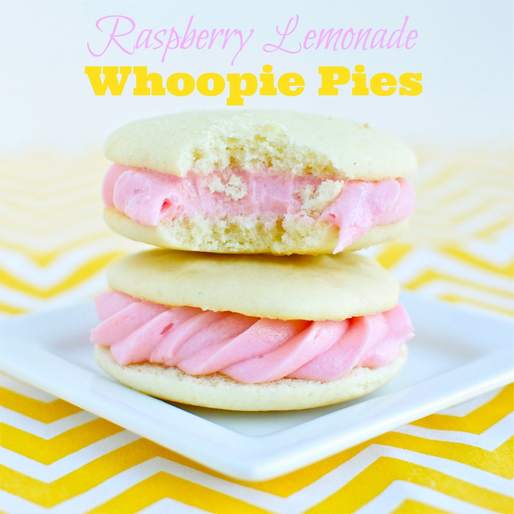 Raspberry Lemonade Whoopie Pies | A baJillian Recipes