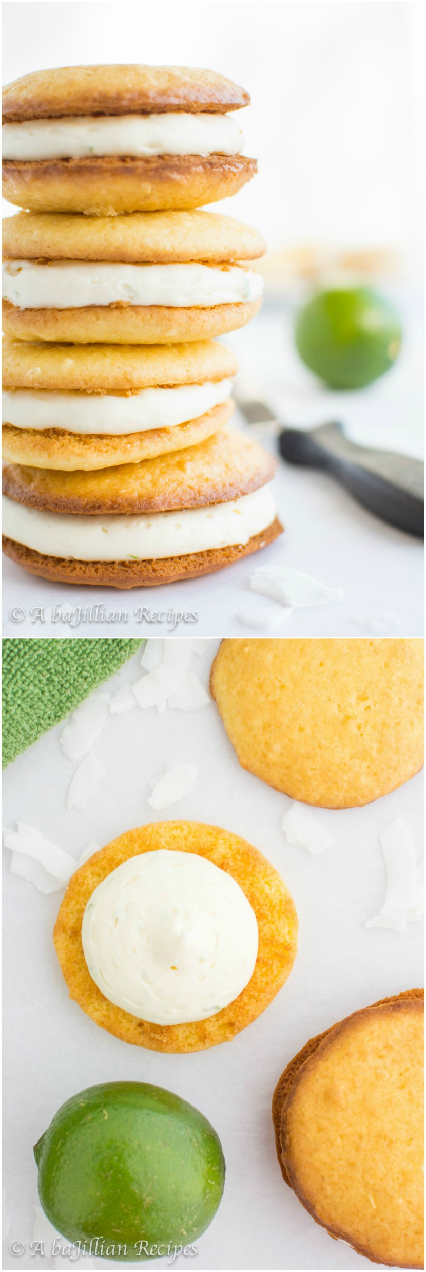 Coconut Lime Whoopie Pies   A baJillian Recipes1