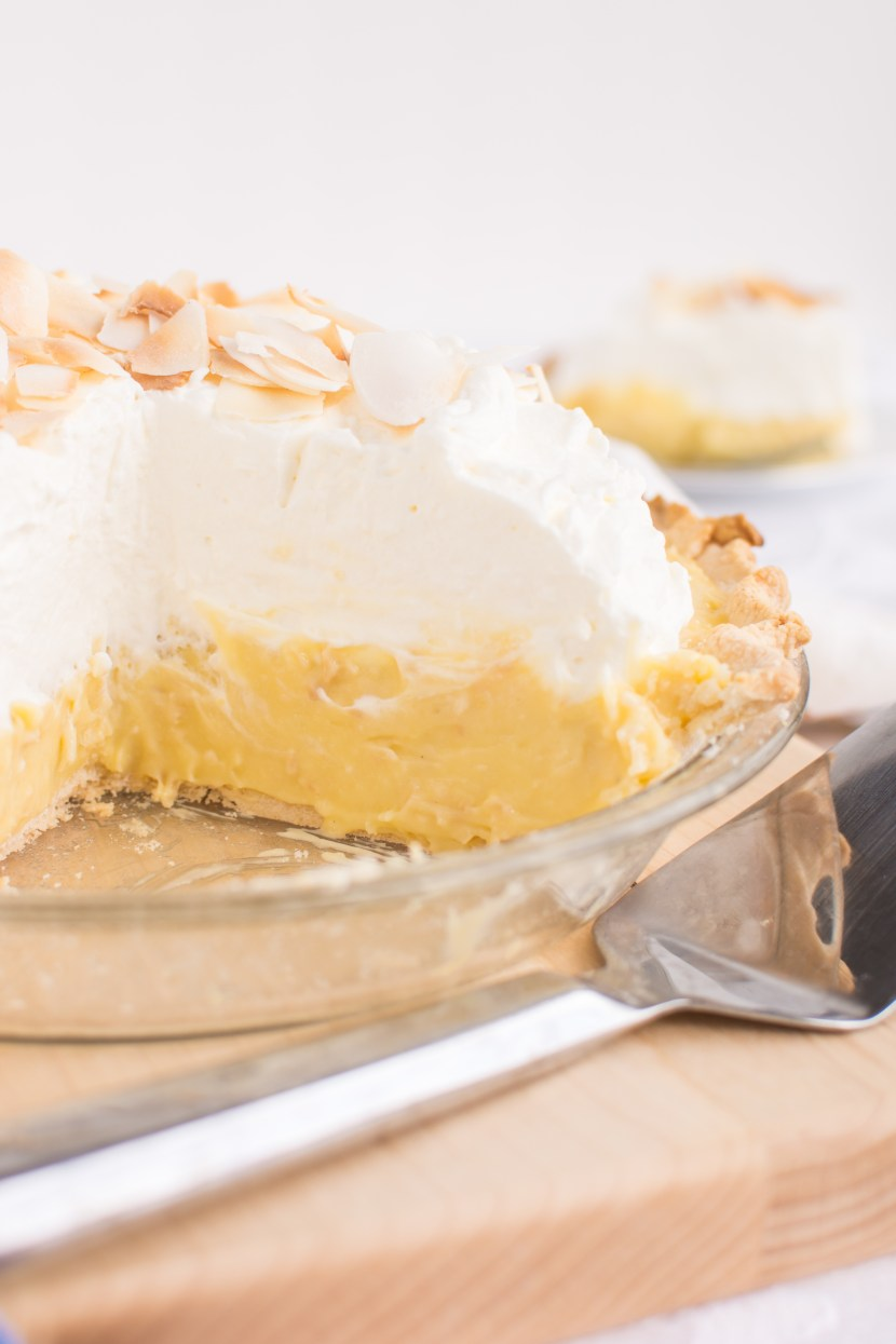 White Chocolate Coconut Cream Pie | A baJillian Recipes-10