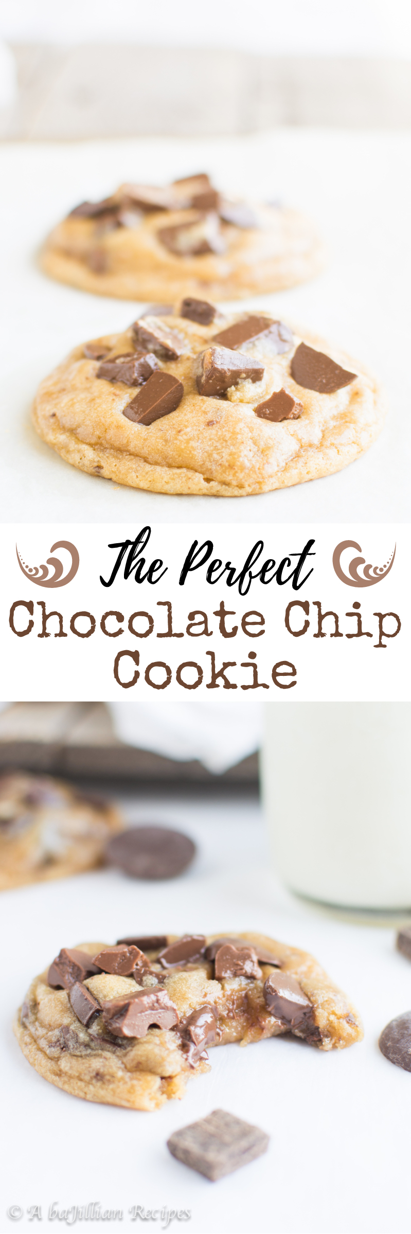 Brown butter is just one of my tricks to making the PERFECT soft and chewy, ultra chocolatey chocolate chip cookie!