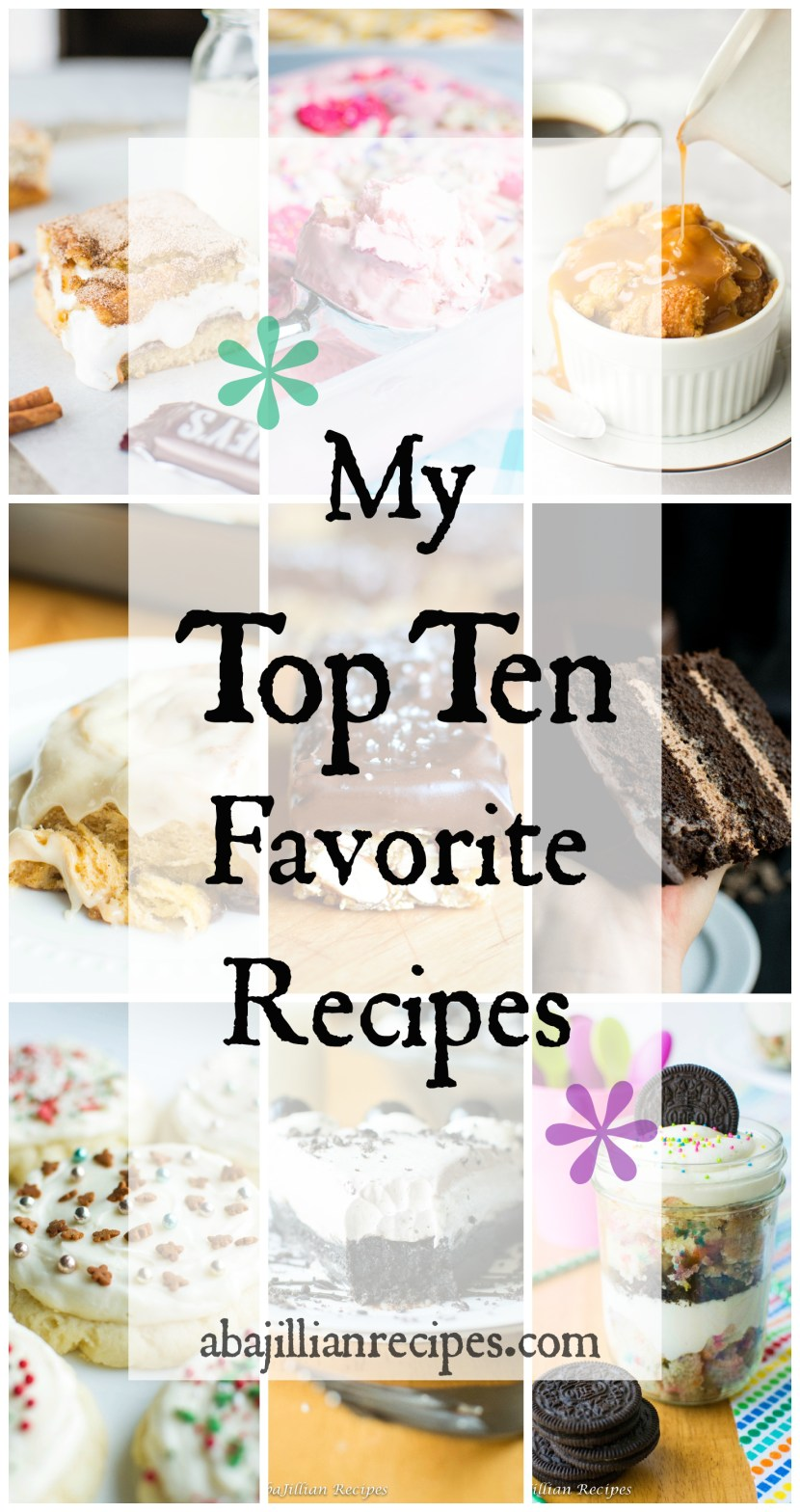 Top Ten | A baJillian Recipes