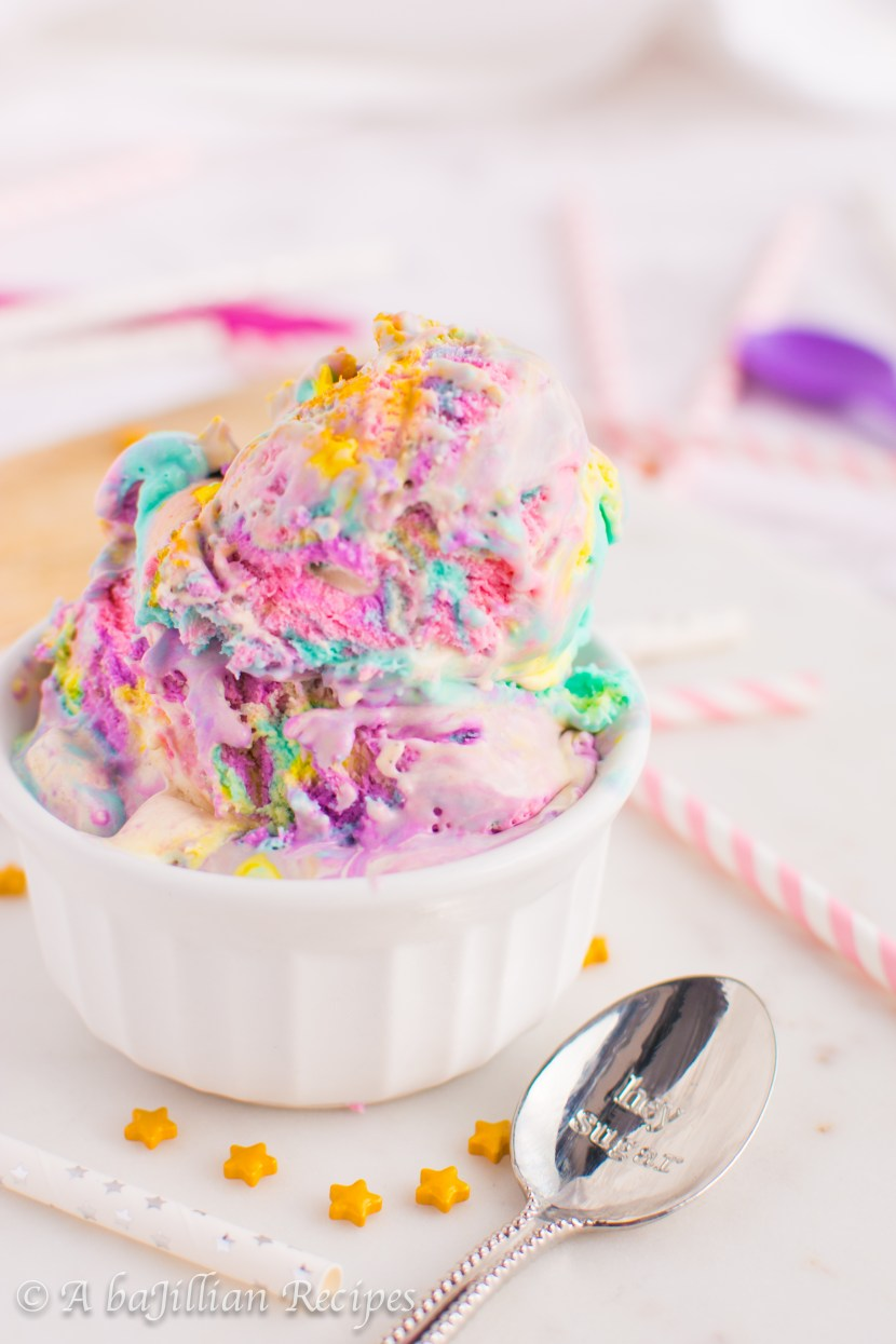 Unicorn Ice Cream | A baJillian Recipes-20