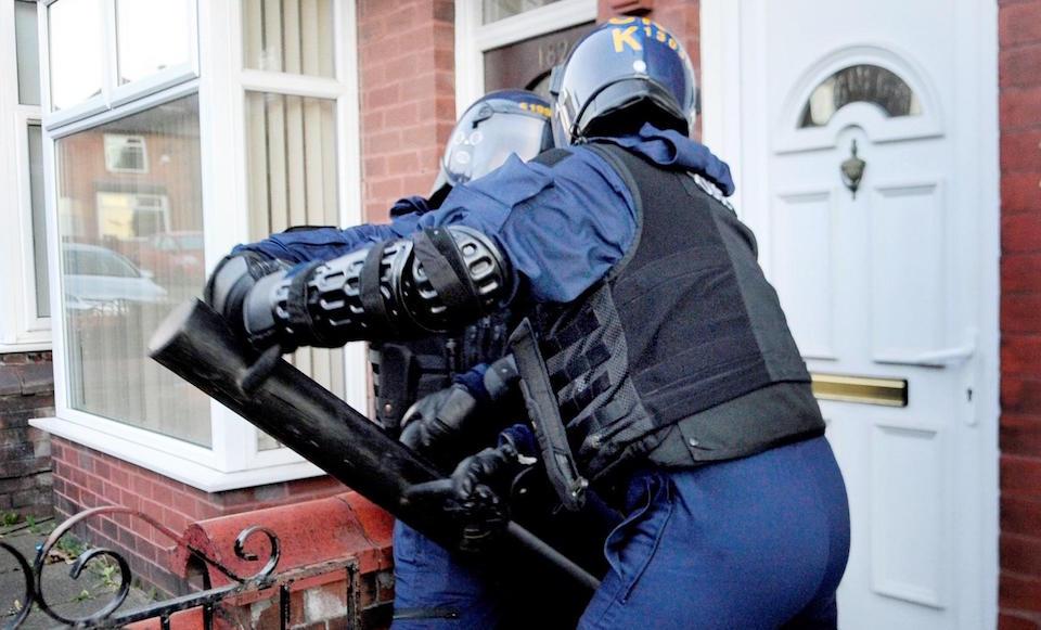 Halliwell raids