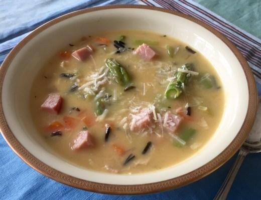 ham & asparagus soup