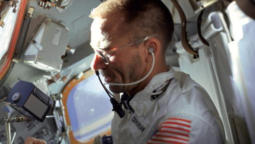 Walter Cunningham, del Apolo 7