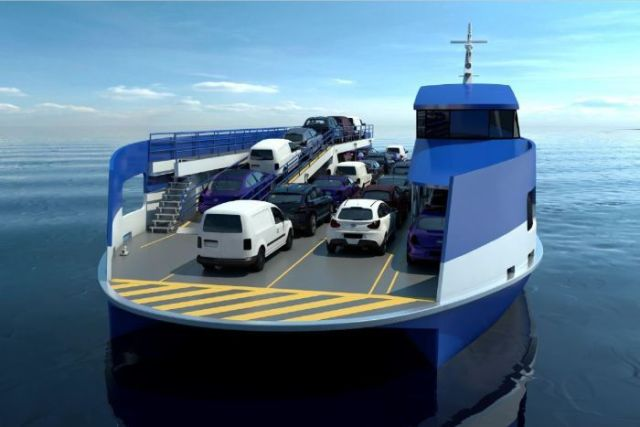 New ferry for Bruny Island