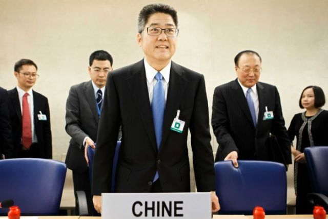 Chinese Vice-Foreign Affairs Minister Le Yucheng