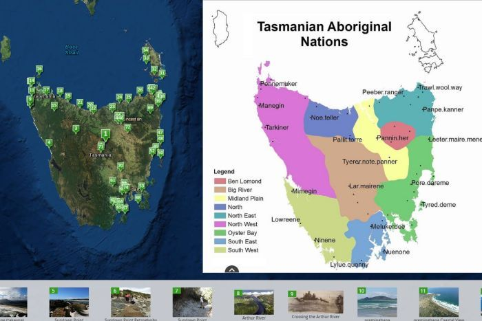 Aboriginal Tasmania interactive story map   ABC News  Australian     Aboriginal Tasmania interactive story map
